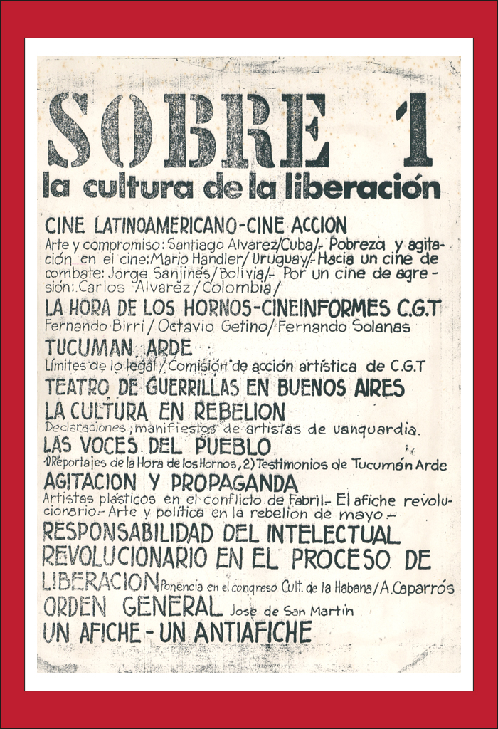 AméricaLee - Sobre la cultura de la liberación