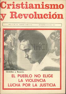 AméricaLee - Cristianismo y revolución 20