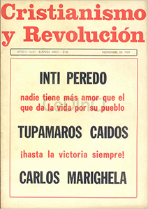 AméricaLee - Cristianismo y revolución 21