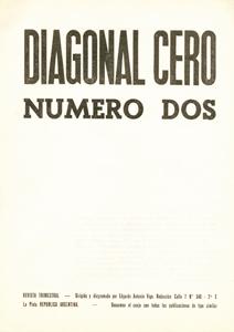 AméricaLee - Diagonal Cero 2