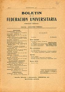 AméricaLee - Boletín de la Federación Universitaria 1