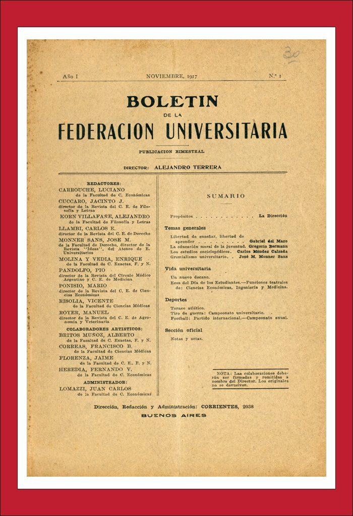 AméricaLee - Boletín de la Federación Universitaria
