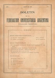 AméricaLee - Boletín de la Federación Universitaria Argentina 1