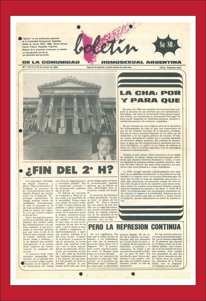 AméricaLee - Boletín de la Comunidad Homosexual Argentina