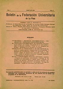 AméricaLee - Boletín de la FULP 1
