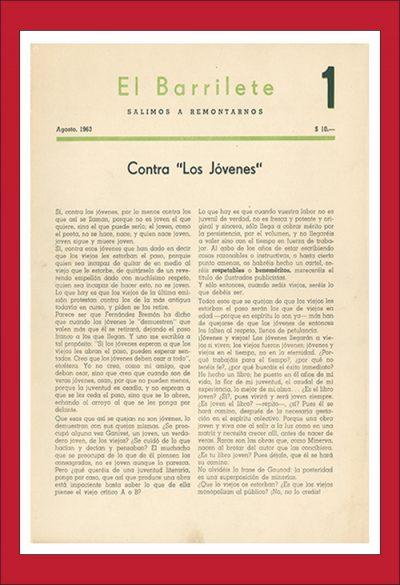 América Lee - Hemeroteca Digital - EL BARRILETE