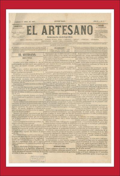 AméricaLee - Hemeroteca digital - El-artesano