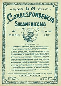 AméricaLee - Correspondencia Sudamericana 22-23 y 24