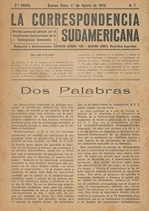 AméricaLee - Correspondencia Sudamericana 2da época 1