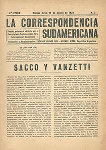 AméricaLee - Correspondencia Sudamericana 2da época 2