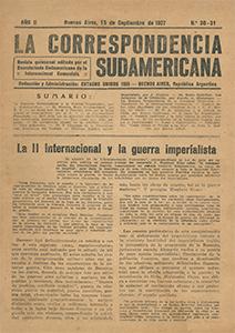 AméricaLee - Correspondencia Sudamericana 30 y 31
