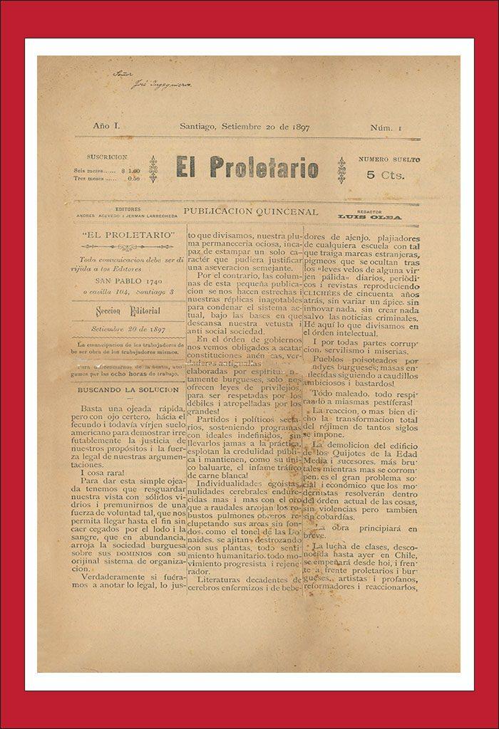 AméricaLee - El Proletario