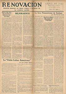 AméricaLee - Renovación abril 1923
