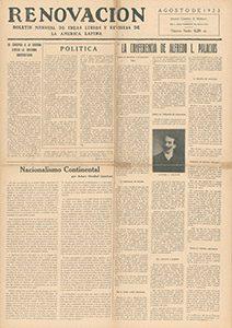 AméricaLee - Renovación agosto 1923