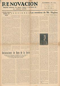 AméricaLee - Renovación diciembre 1923
