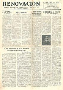 AméricaLee - Renovación febrero 1923