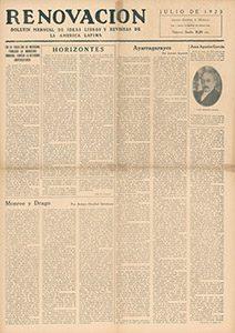 AméricaLee - Renovación julio 1923