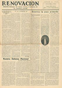 AméricaLee - Renovación junio 1923