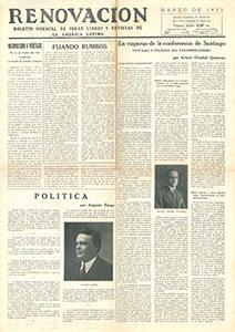 AméricaLee - Renovación marzo 1923