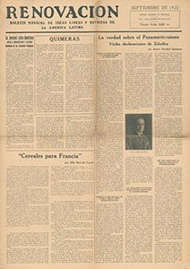 AméricaLee - Renovación septiembre 1923