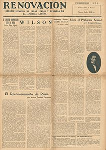 AméricaLee - Renovación febrero 1924
