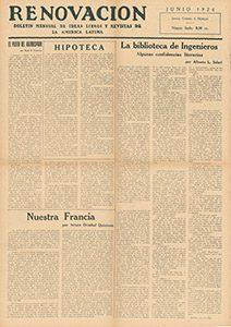 AméricaLee - Renovación junio 1924