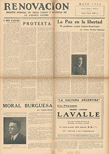 AméricaLee - Renovación mayo 1924