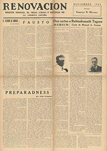 AméricaLee - Renovación noviembre 1924