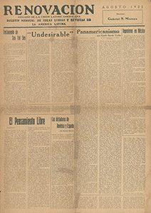 AméricaLee - Renovación agosto 1925