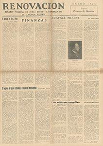 AméricaLee - Renovación enero 1925