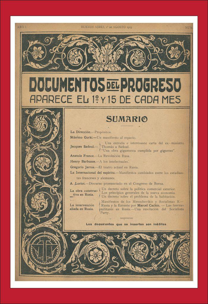 AméricaLee - Documentos Del Progreso