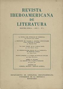 AméricaLee - Revista Iberoamericana de Literatura - 2da Época 1