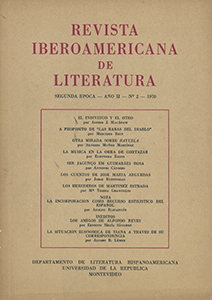 AméricaLee - Revista Iberoamericana de Literatura - 2da Época 2